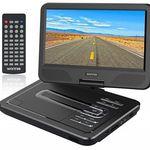 WONNIE 10.5″ tragbarer DVD-Player mit schwenkbaren Bildschirm für 29,49€ (statt 59€)
