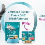 Purina One Katzenfutter gratis anfordern