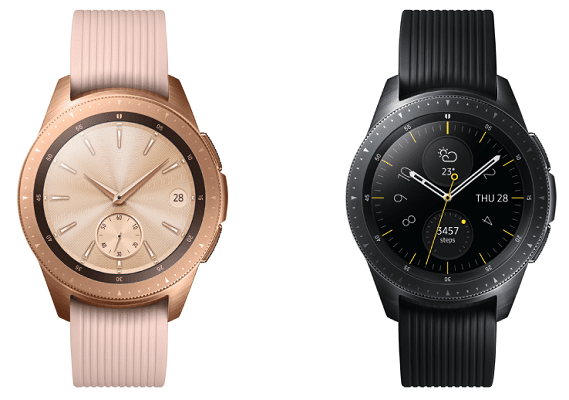 Samsung Galaxy Watch mit Wireless Charger Duo + Lederarmband für 289€   Vorbestellungen