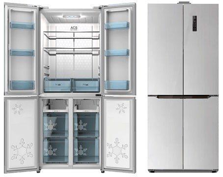 SCHNEIDER SCD 400 Side by Side Kühlschrank mit EEK A++ in Silber/Edelstahl für 619€ (statt 859€)