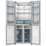 SCHNEIDER SCD 400 Side-by-Side Kühlschrank mit EEK A++ in Silber/Edelstahl für 619€ (statt 859€)