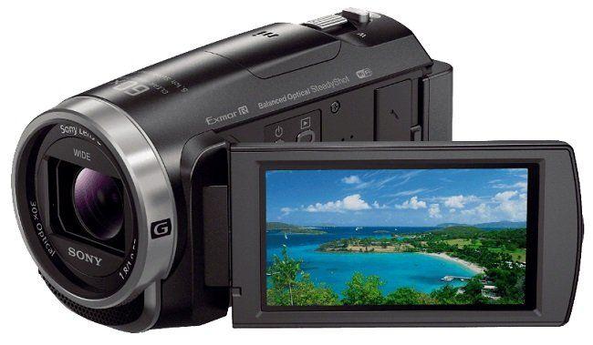 SONY HDR CX625 Camcorder mit 30x opt. Zoom und Bildstabilisator für 288€