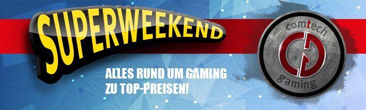 Comtech Gaming Superweekend Sale mit bis zu 46% auf Hardware, Monitore, Gamingzubehör