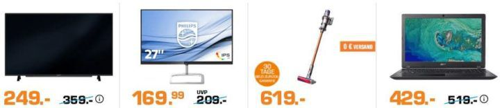 Saturn Saisonstart: heute z.B. PHILIPS 27 Zoll Full HD IPS Monitor für 169,99€ (statt 196€)