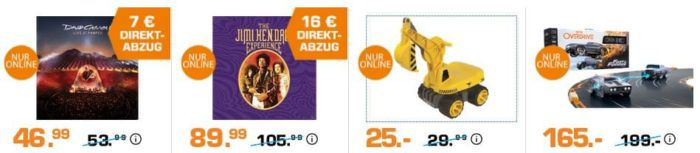 Saturn Entertainment Weekend Deals: z.B. The Jimi Hendrix Experience (8 LP Vinyl Box Set) für 73,99€ (statt 99€)