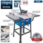 Scheppach HS200L – Tischkreissäge mit Laser, Tischverbreiterungen, 2000W für 107,91€ (statt 126€)