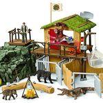 Schleich Dschungel Forschungsstation Croco Spielset ab 65,59€ (statt 75€)