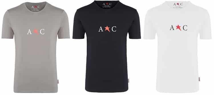 3er Pack AC by Andy HILFIGER T Shirt für 29,99€ (statt 35€)