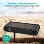 RAVPower QC3.0 Outdoor-Solarladegerät mit 25000mAh und Taschenlampe für 38,99€ (statt 50€)