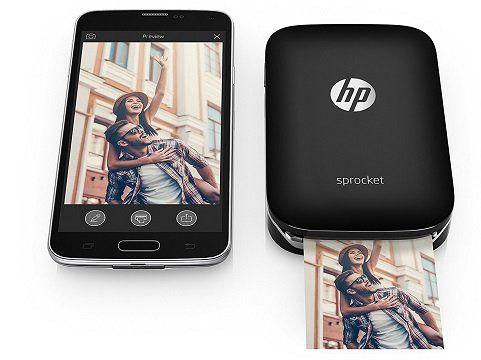 HP Sprocket mobiler Fotodrucker in schwarz für 89€ (statt 107€)