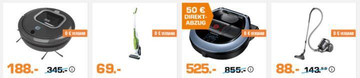 SATURN Staubsaugeraktion: viele günstige Modelle z.B. Black & Decker NVB 215 WN für 19€ (statt 24€)