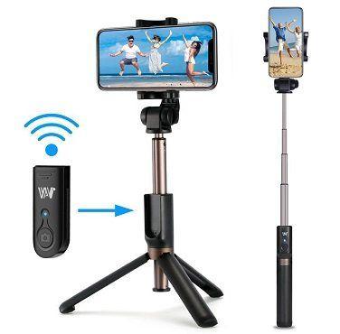 Romanda Selfiestick mit Stativ und Bluetooth für 13,19€ (statt 22€)