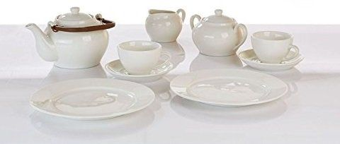 Keramik Tee Service 11 teilig mit Teekanne 650ml für 17,77€ (statt 24€)