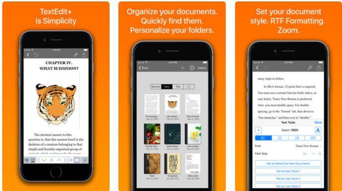 TextEdit+ (iOS) gratis statt 4,49€