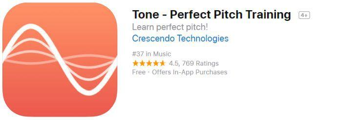 Tone   Perfect Pitch Training (iOS) gratis statt 4,49€