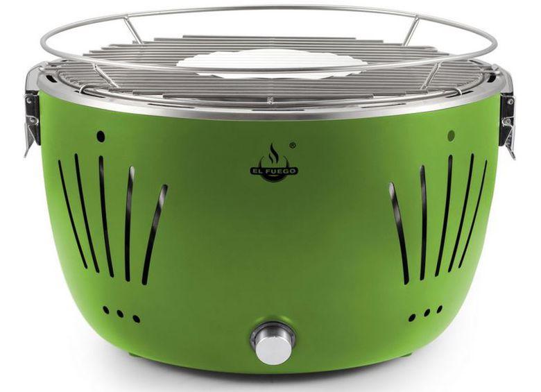 El Fuego Tulsa   rauchfreier Tisch Holzkohlegrill div. Farben + Tasche für 39,99€ (statt 60€)