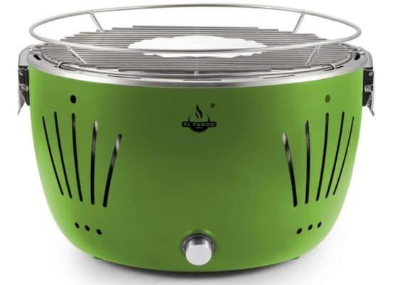 El Fuego Tulsa   rauchfreier Tisch Holzkohlegrill inkl. Tragetasche ab 39,99€ (statt 57€)