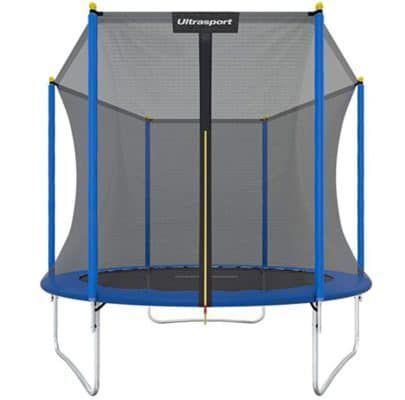 Ultrasport Uni Jump 244 cm Trampolin mit Sicherheitsnetz für 79,90€ (statt 150€)