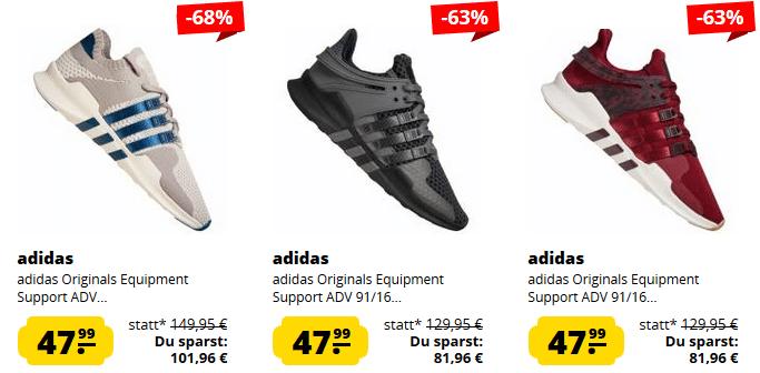 adidas Originals Equipment Support ADV Adventure Sneaker ab 47,99€ (statt 78€)