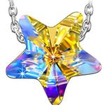 """Kami Idea Damen Kette """"Lucky Star"""" aus Sterlingsilber mit Swarowski-Kristall für 7,99€ (statt 25€)"""