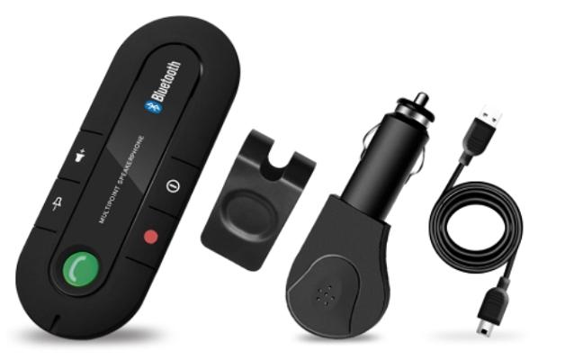 Sun Visor BT Speakerphone   Freisprechanlage für die Sonnenblende für 4,84€