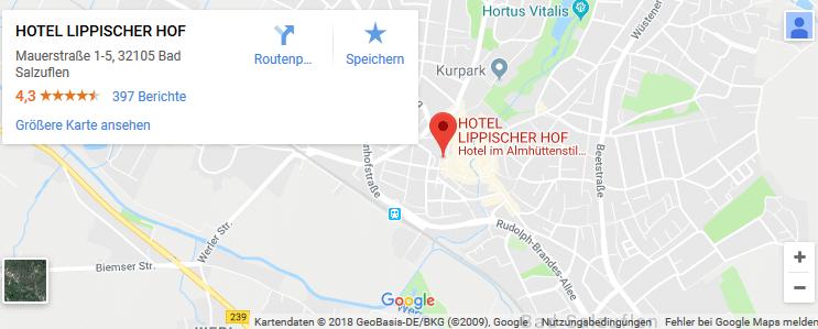2, 4 o. 6 ÜN in Bad Salzuflen inkl. HP & Wellness ab 99€ p.P.