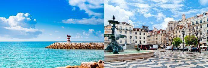 5, 7 o. 9 ÜN: Rundreise in Lissabon & der Algarve inkl. Frühstück, Mietwagen & Flüge ab 289€ p.P.