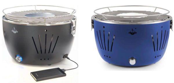 El Fuego Tulsa   rauchfreier Tisch Holzkohlegrill div. Farben + Tasche für 39,99€ (statt 51€)