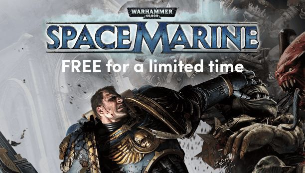 Warhammer 40.000: Space Marine (Steam Key) gratis im Humble Store
