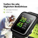 OMORC wasserdichte Sportuhr mit GPS und Herzfrequenzsensor für 56,99€ (statt 122€)