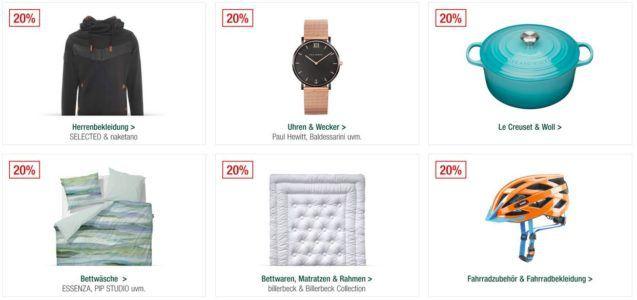 Galeria Kaufhof Sonntagsangebote   20% Rabatt auf Naketano ausgewählte Uhren, Fisher Price, Le Creuset   15% auf ausgewählten Gin uvam.