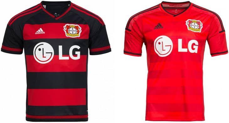 Bayer 04 Leverkusen adidas Kinder Auswärts Trikot (2015/2016) für 11,72€ (statt 15€)