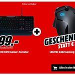 Logitech G910 Orion Gaming Tastatur + Logitech G402 Maus für 99€ (statt 130€)