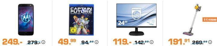 Saturn Saisonstart: heute z.B. Captain Future   Komplettbox (Blu ray) für 49,99€ (statt 73€)