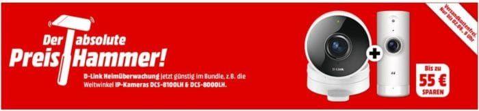 Preishammer: D Link Überwachungs  und Smarthome Geräte im Bundle ab 49€