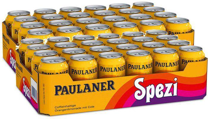 48 Dosen Paulaner Spezi für 31,98€ (statt 38€)