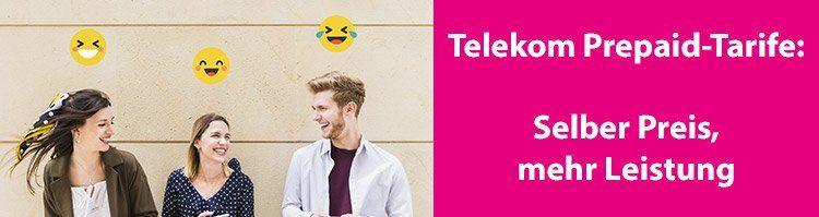 NEWS: Mehr Datenvolumen für Prepaid Tarife der Telekom