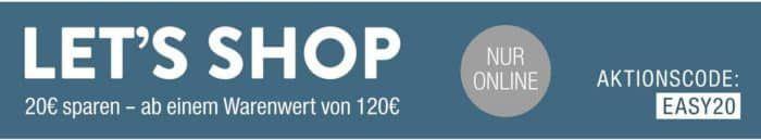 Galeria Kaufhof auf ausgewählte Artikel 20€ Sofortrabatt ab 120€ Warenwert