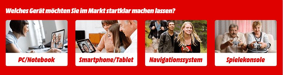 NEWS: Hilfe bei der Geräte Einrichtung   der Media Markt STARTKLAR Service