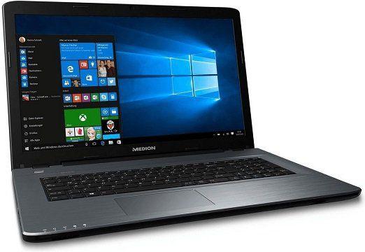 MEDION AKOYA P7645 Multimedia Notebook mit i5, Win10 Home, GeForce 940MX, 128GB SSD, 1TB HDD, 8GB RAM für 649€ (statt 779€)