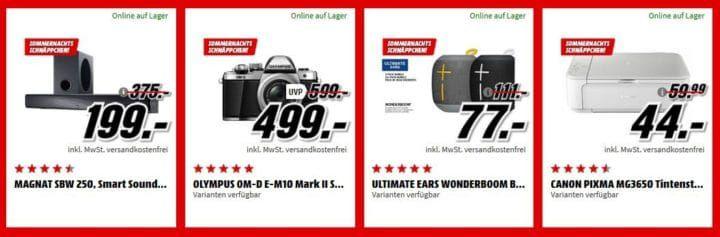 Media Markt Sommernacht Sale bis 6 Uhr: z.B. Honor 7C Smartphone für 149€ (statt 168€)
