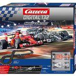Carrera Digital 132 Night Contest -7,3m Autorennbahn für 143,99€ (statt 185€)