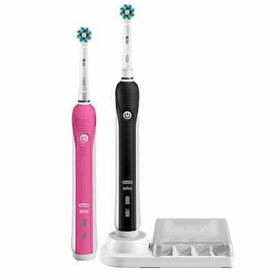 Oral B Smart 4 4900   elektrische Zahnbürste mit 2 Handstücken für 69,95€ (statt 89€)