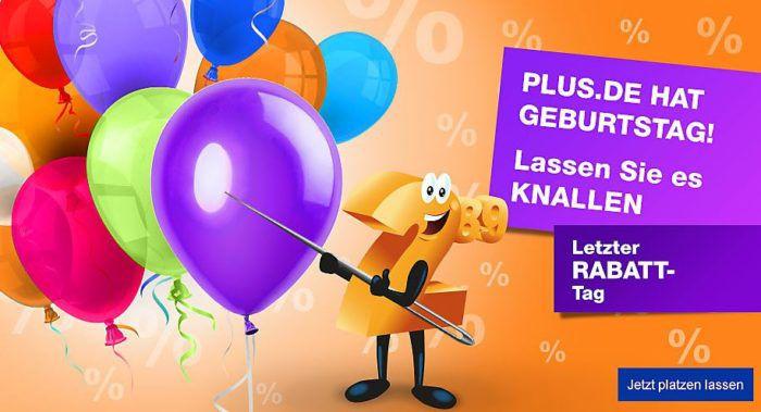10% Rabatt auf fast alles bei Plus.de: z.B. Scheppach HCE2400 Hochdruckreiniger für 105,30€