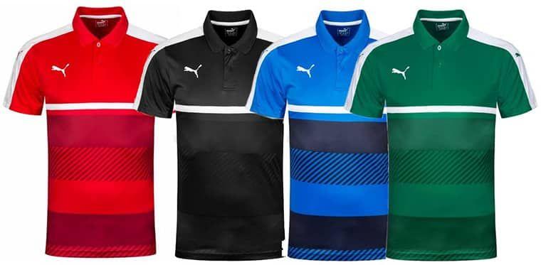 PUMA Veloce Herren Sport Polo Shirt in vielen Farben für je 13,94€ (statt ~25€)