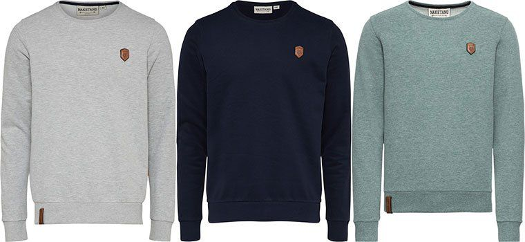Naketano Herren Sweatshirt Satzbau für 31,92€ (statt 45€)