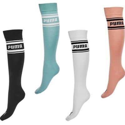 Puma Damen Kniestrümpfe in 4 Farben je 4,95€ (statt 11€)
