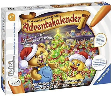 Ravensburger Tiptoi Adventskalender Weihnachtswerkstatt für 9,99€ (statt 20€)