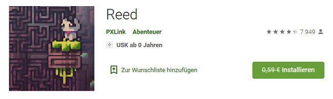 Android: Reed kostenlos (statt 0,59€)