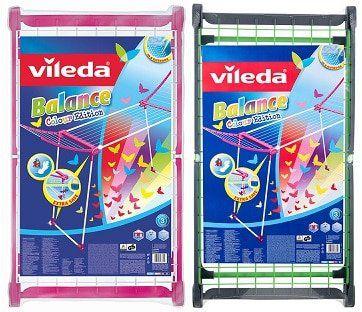 Vileda Viva Dry Balance Colour Edition Wäscheständer (B Ware) für 19,99€ (statt neu 38€)